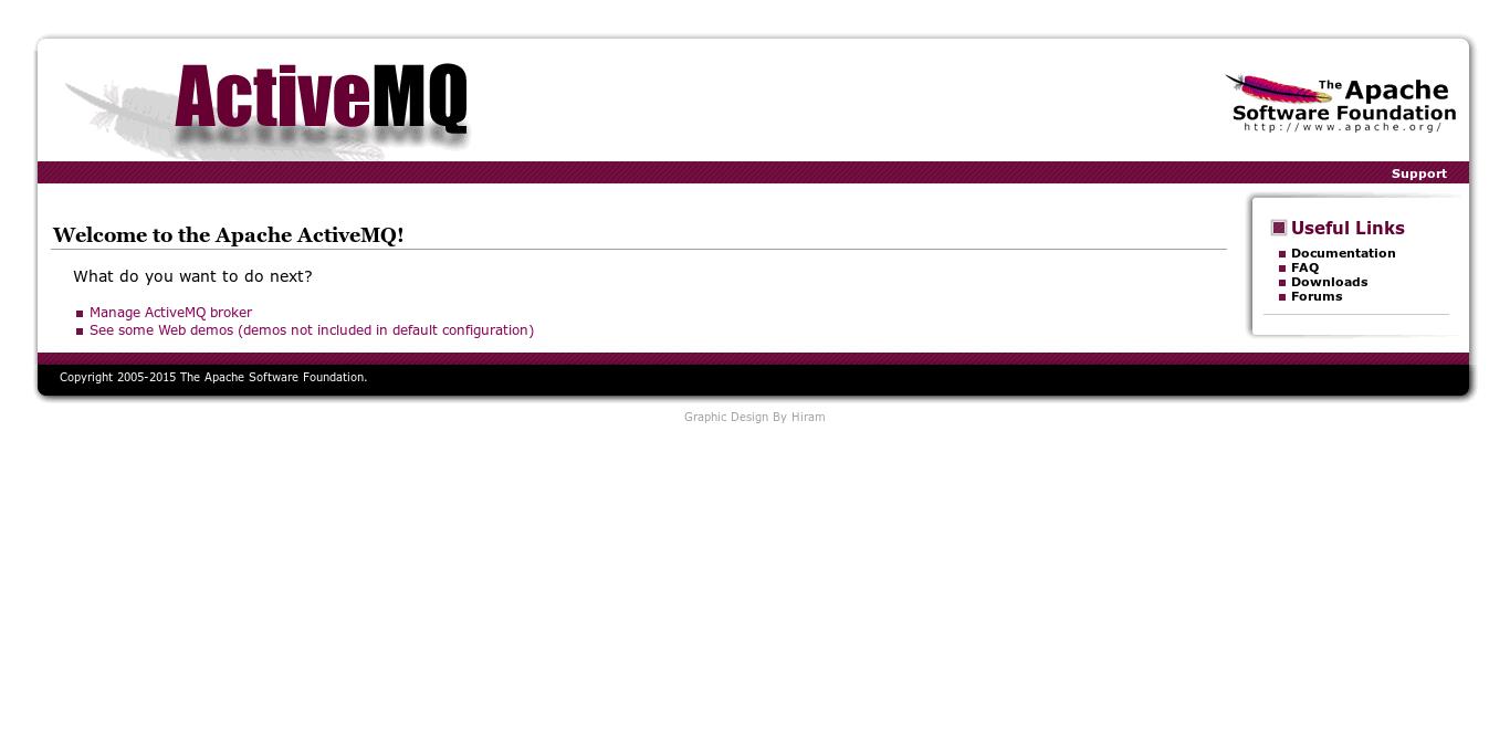 12.- ActiveMQ web interface