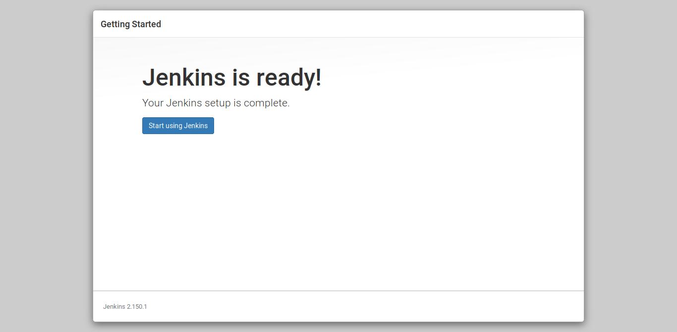 13.- Jenkins is ready