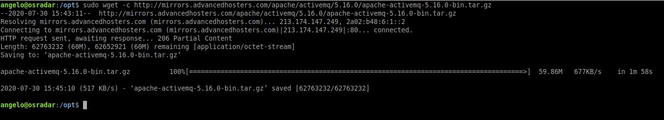 2.- Download Apache ActiveMQ