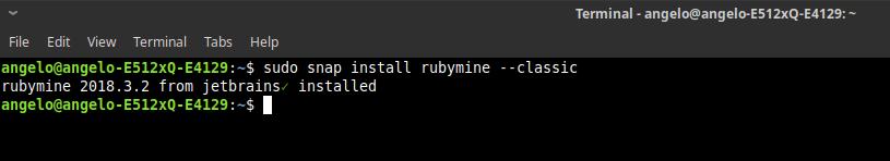 2.- Install RubyMine