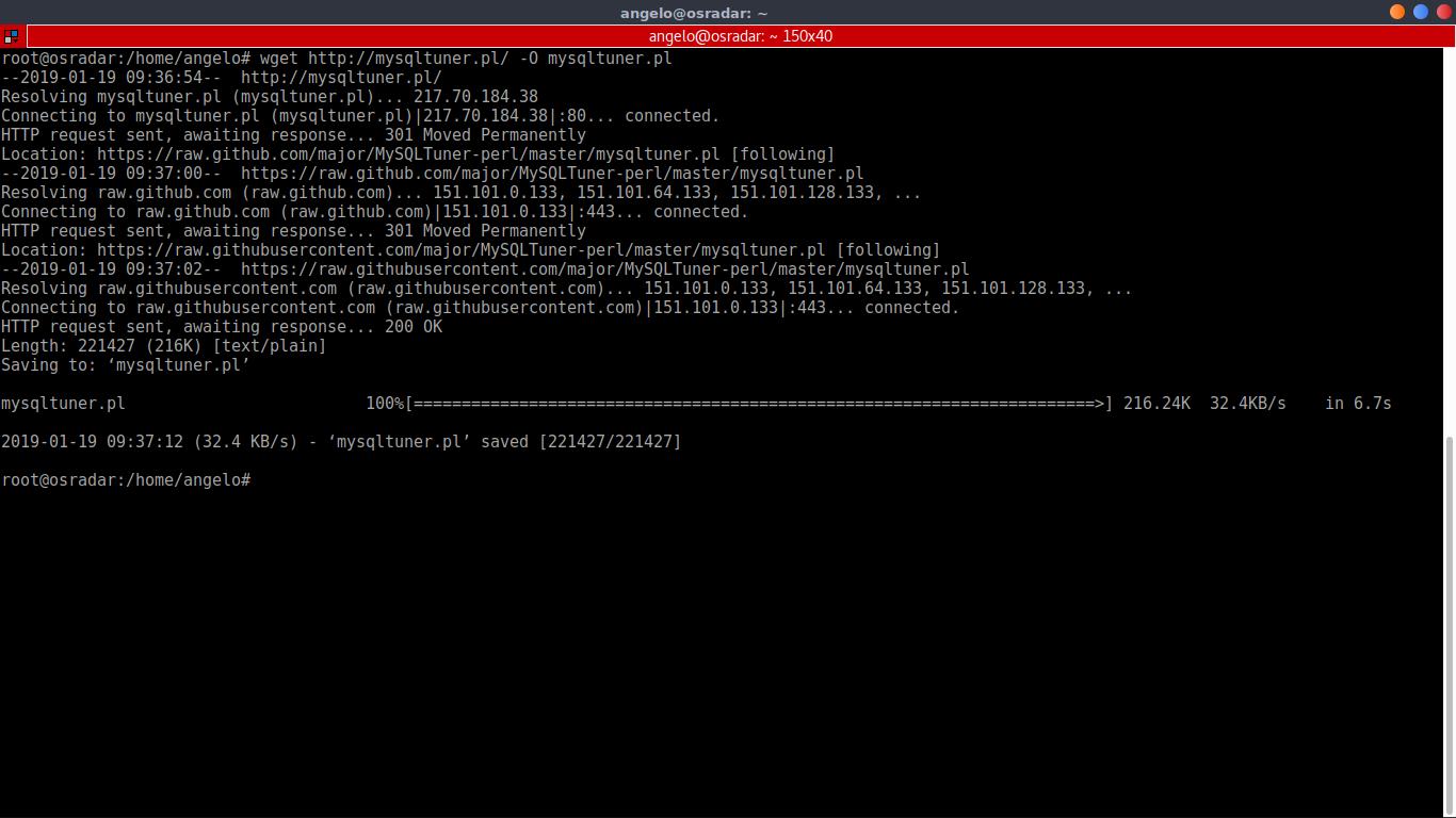 3.- Download MySQLTuner
