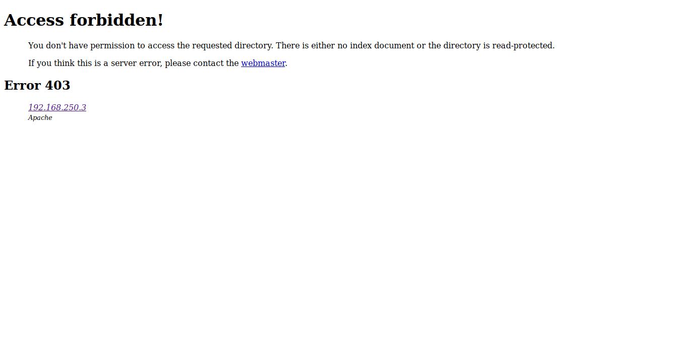 5.- Apache default page