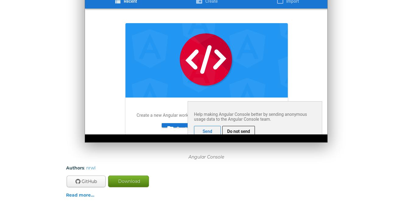 2.- An application on AppImageHub