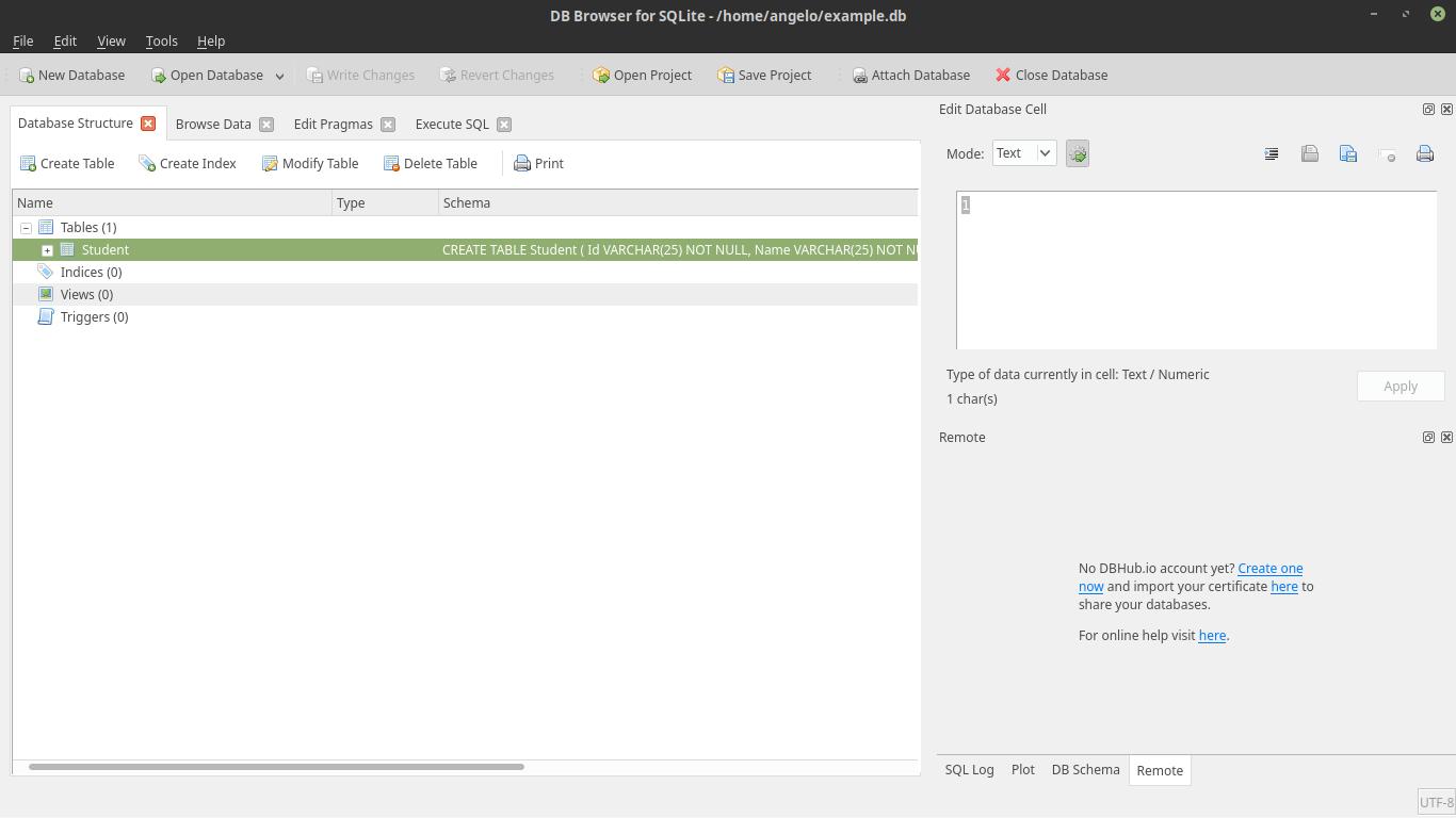 12.- SQLite browser