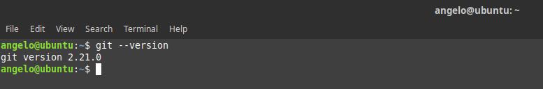4.- Git latest version installed