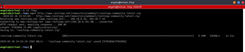 5.- Download and install RainLoop