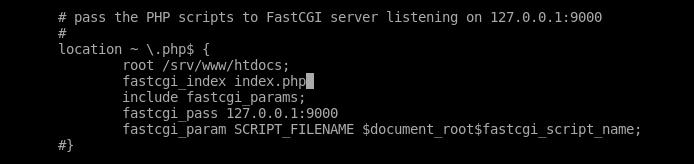 5.- Set PHP configuration