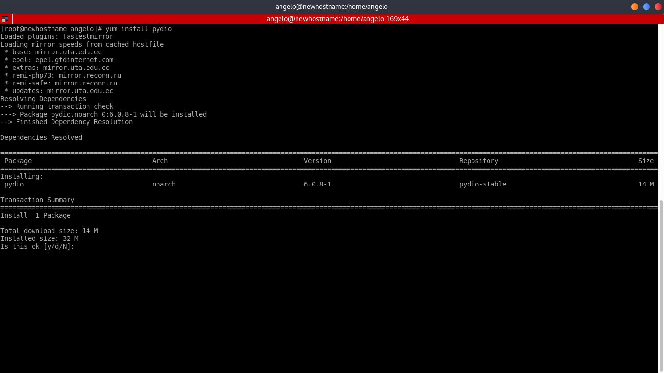 9.- Install Pydio on CentOS