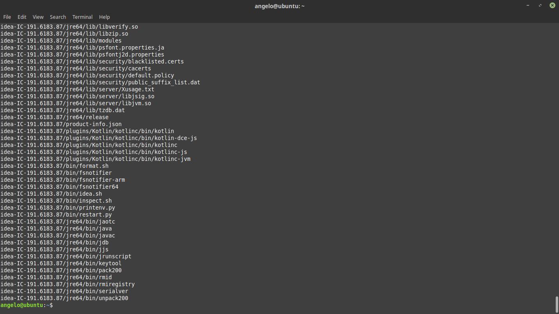 2.- decompress the file