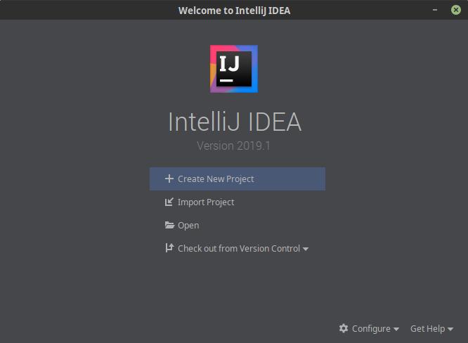 4.- IntelliJ IDEA on Ubuntu 18.04