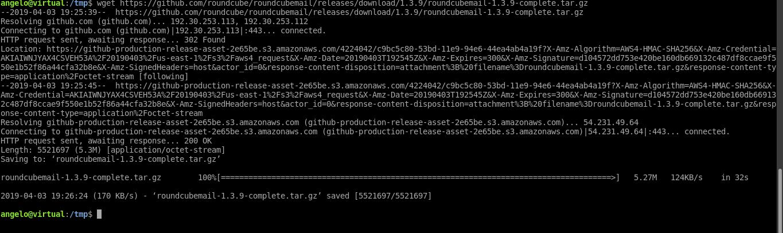 7.- Download and install Roundcube on Ubuntu 18.04