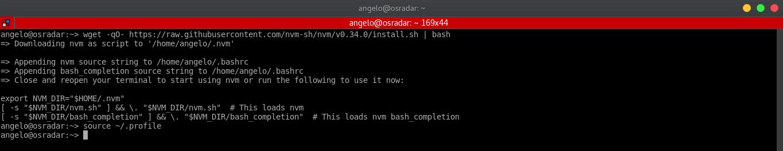 2.- Installing NVM