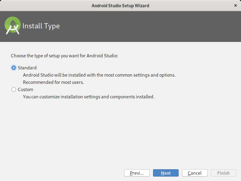 4.- Install type