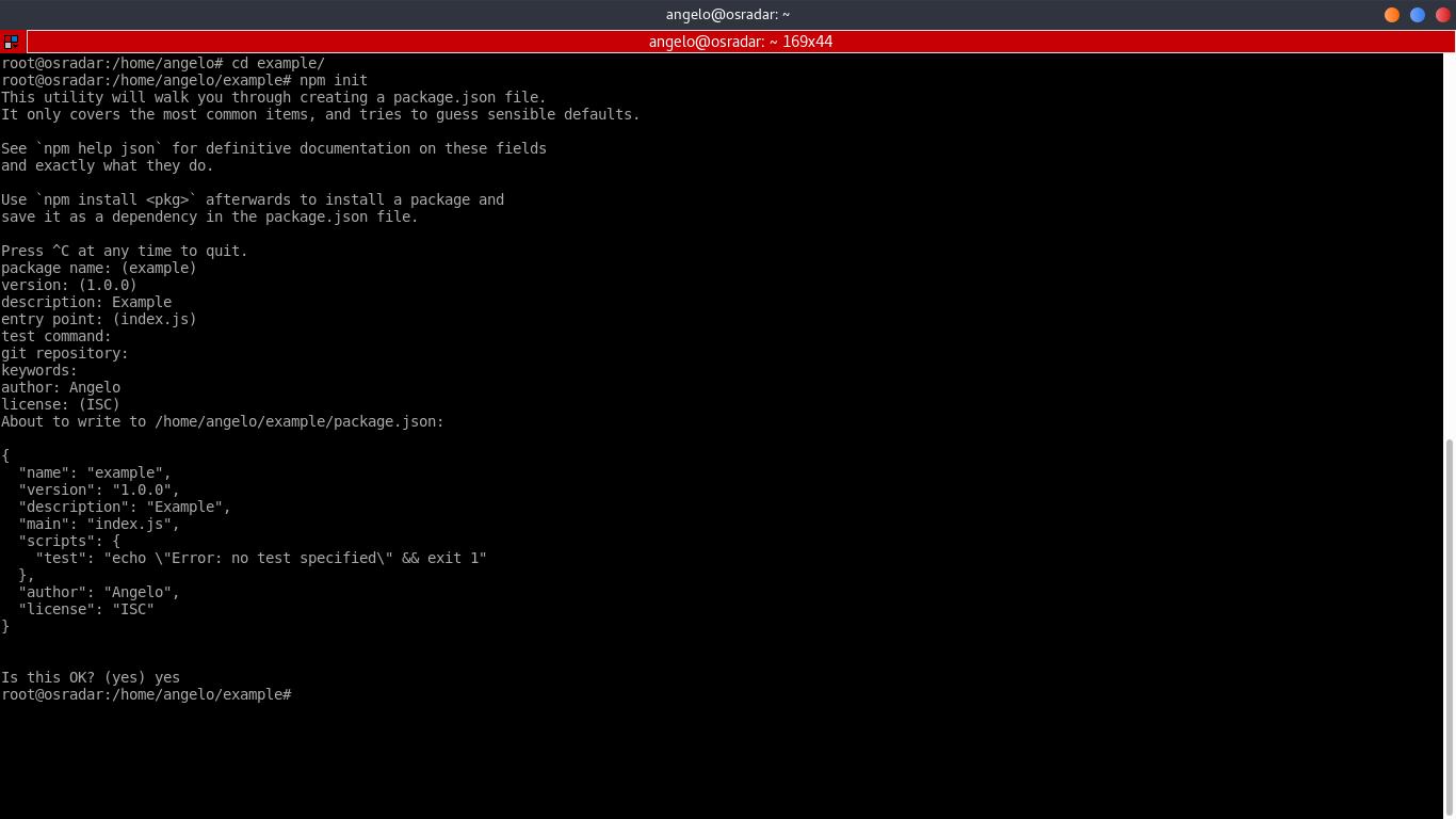 3.- Set GruntJS on Debian 9