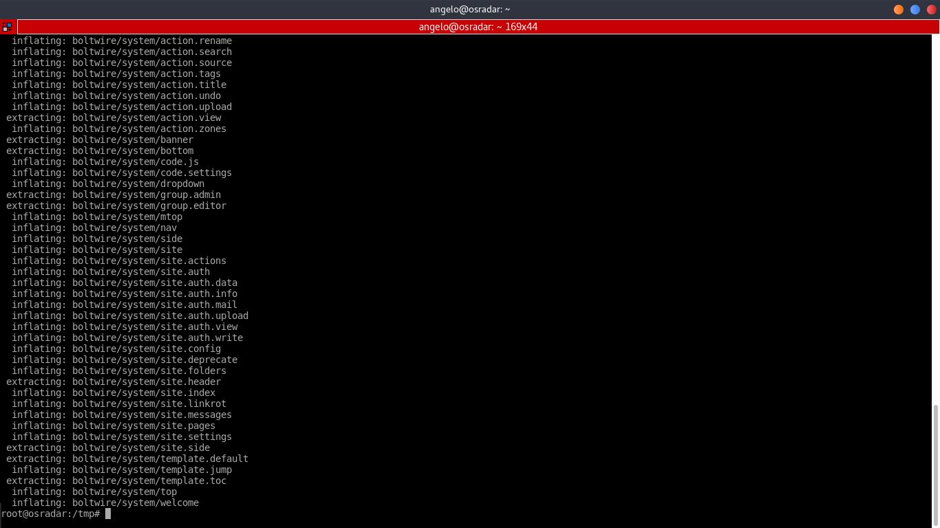 4.- Decompress the file