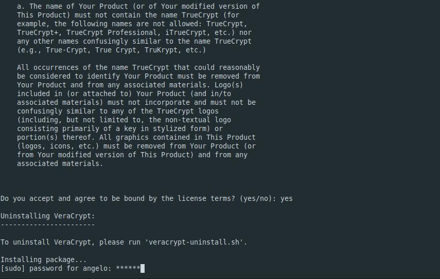 5.- Install Veracrypt on Ubuntu 18.04