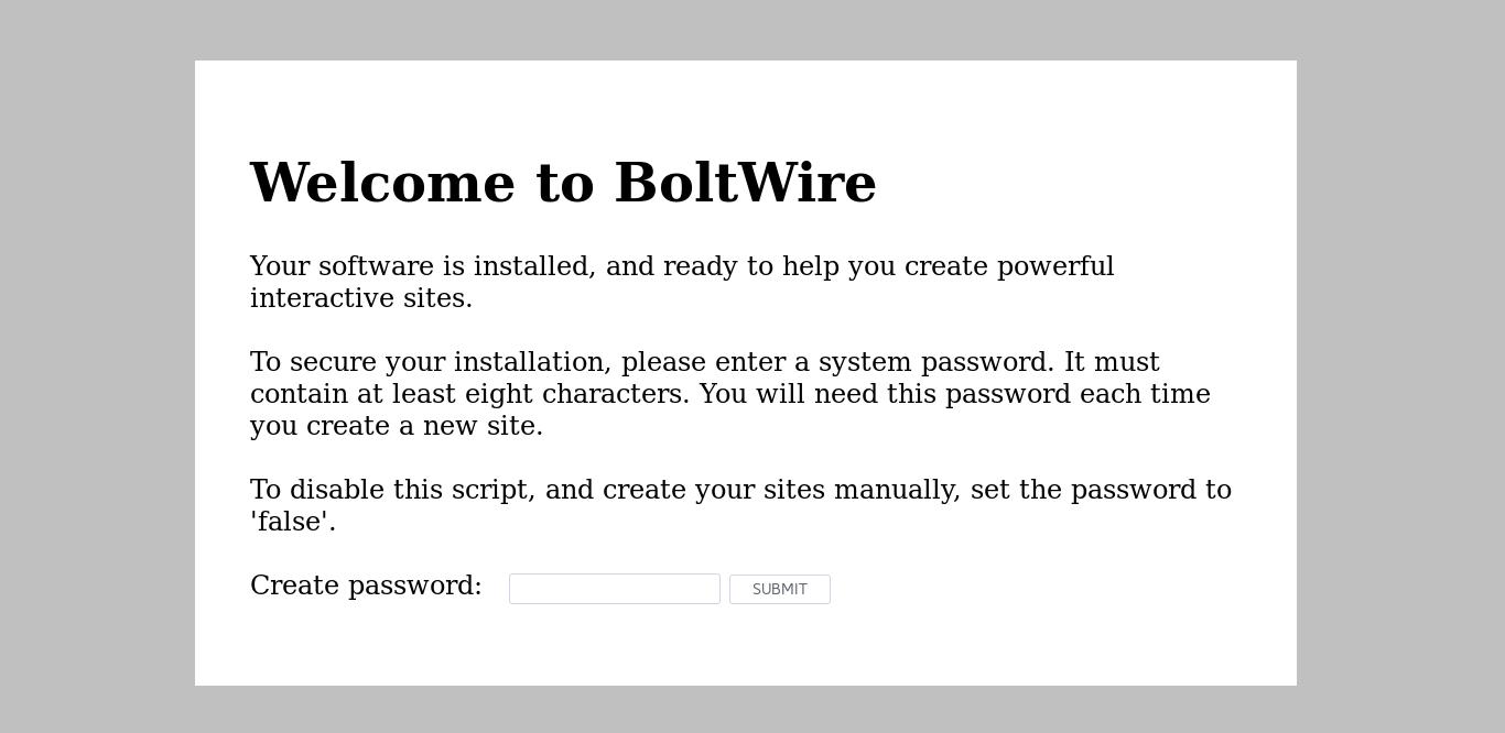 6.- Install Boltwire CMS on Debian 9