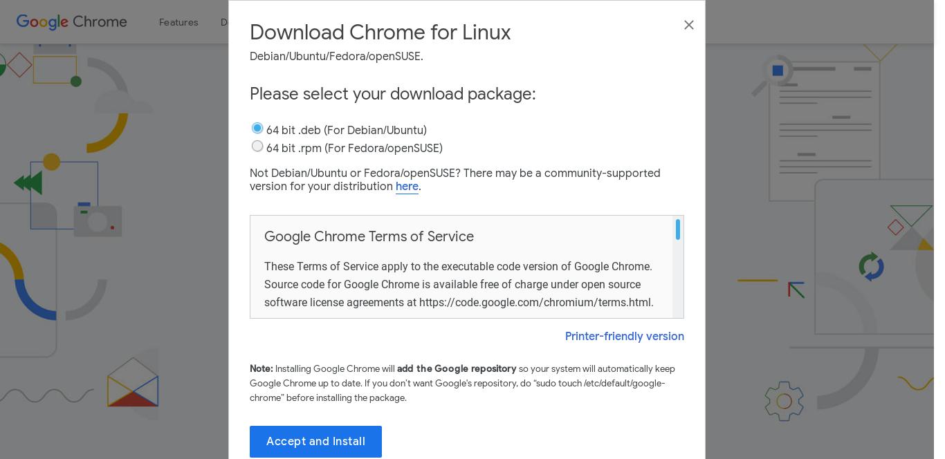 1.- Download Google Chrome