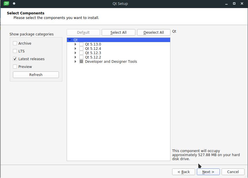 1.- Install QTCreator on Ubuntu using the online installer