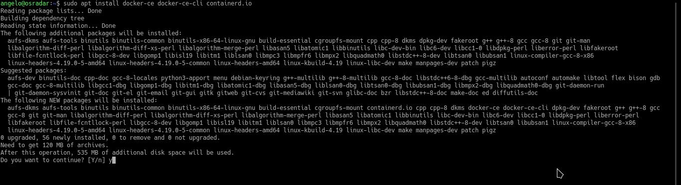 2.- Install Docker on Ubuntu 20.04 / Debian 10