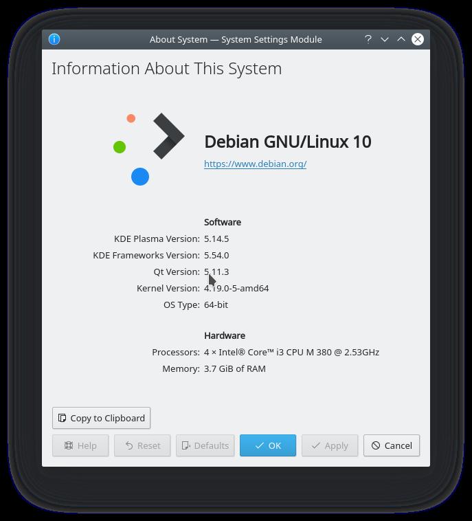 26.- Debian 10 Buster