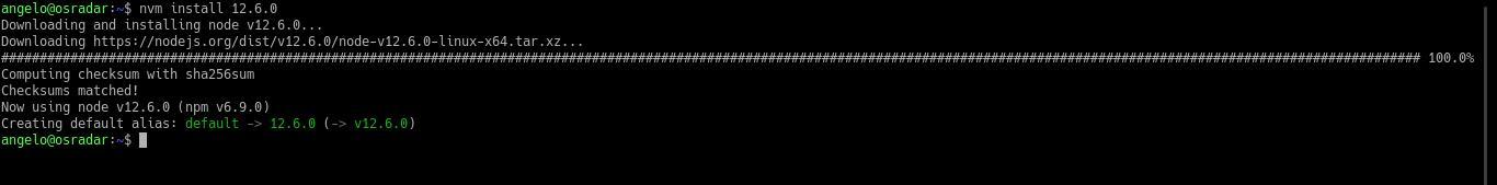 3.- Install NodeJS on Debian 10