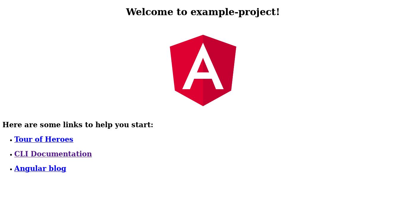 3.- Angular is working