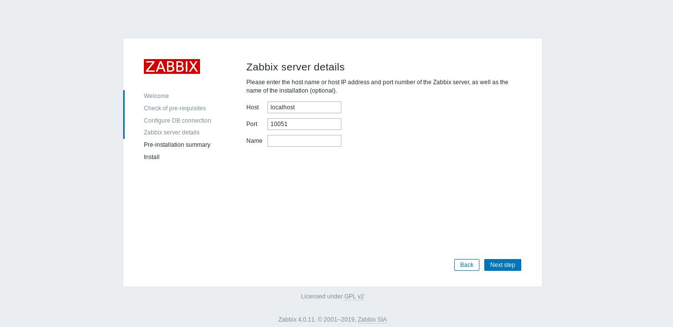 7.- Zabbix on Debian 10