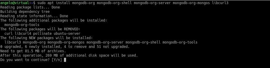 2.- Install MongoDB on Ubuntu 18.04