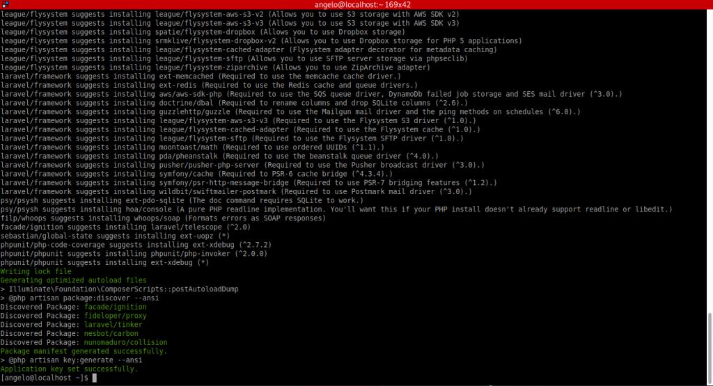 1.- Installing Laravel on CentOS 8