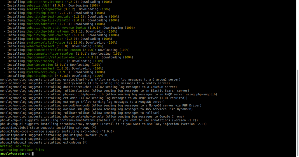 2.- Install Slim framework on Debian 10
