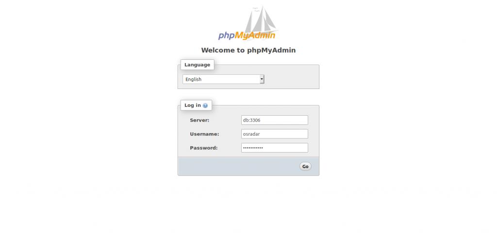 4.- PHPMyAdmin using Docker Compose