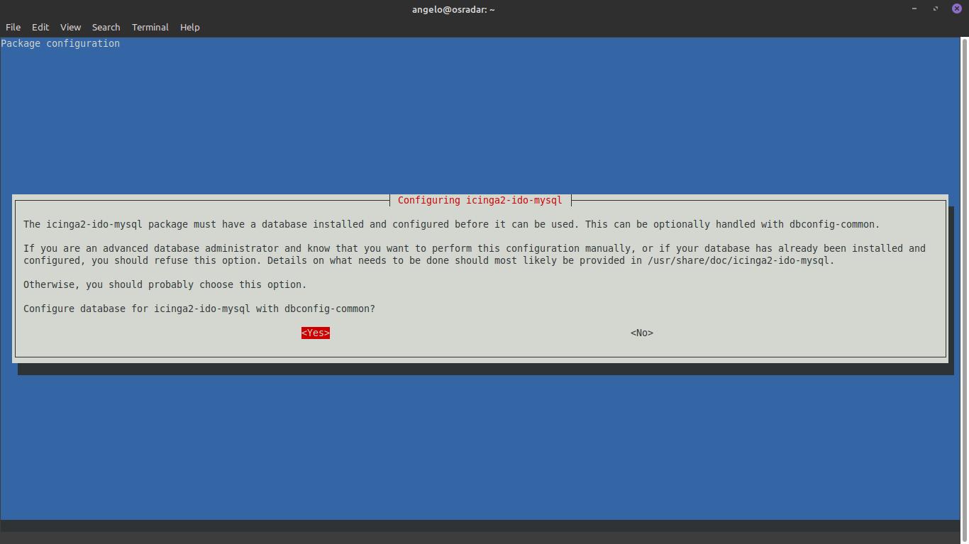 4.- Configuring Icinga2