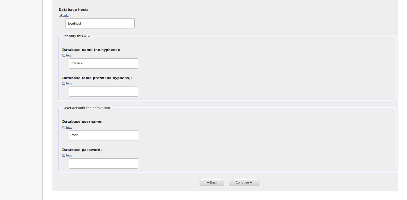 6.- Database parameters