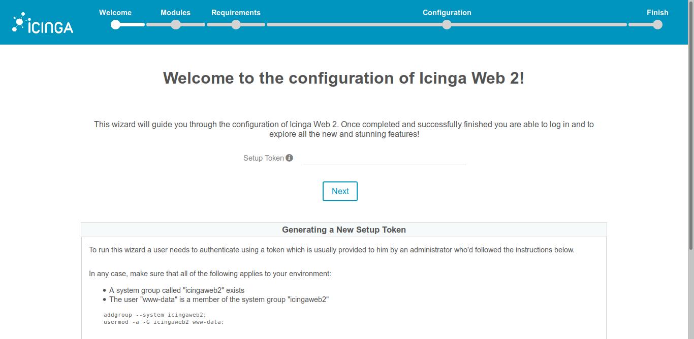 8.- Installing Icinga2 on Debian 10