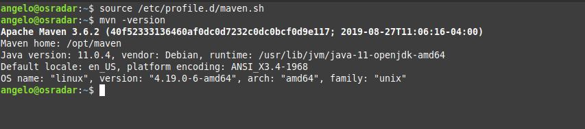 5.- Apache Maven on Debian 10