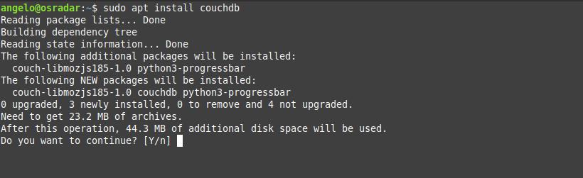 1.- Install CouchDB on Debian 10