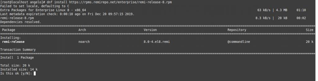2.- Adding the REMI repository