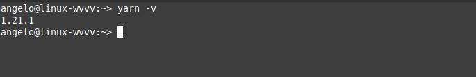 3.- Yarn on OpenSUSE 15.1