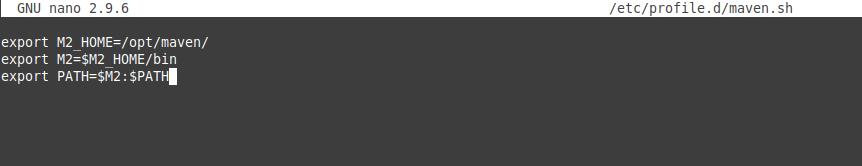 3.- Installing Apache maven on OpenSUSE 15.2 / 15.1