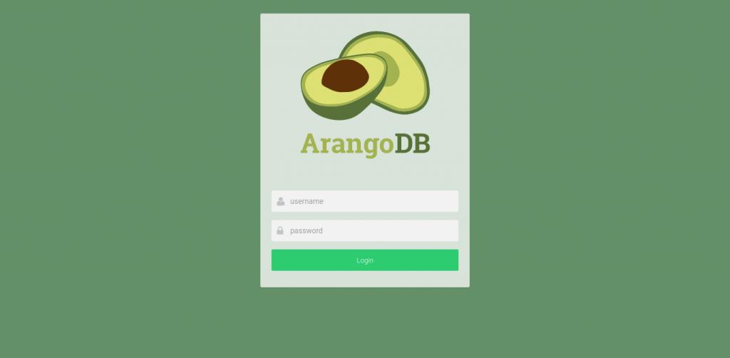 3.- ArangoDB working