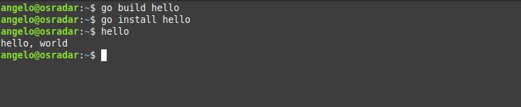6.- Go language on Debian 10
