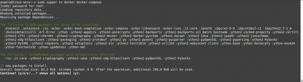 1.- Install Docker on OpenSUSE 15.2 / 15.1