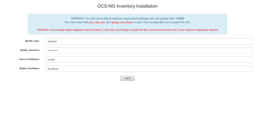 10.- Installing OCSInventory on Debian 10