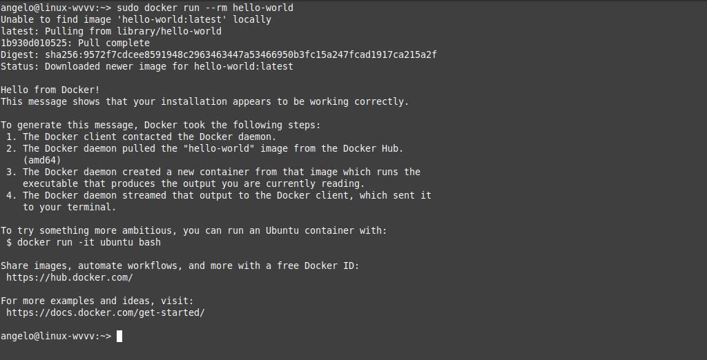 3.- Docker on OpenSUSE 15.2 / 15.1