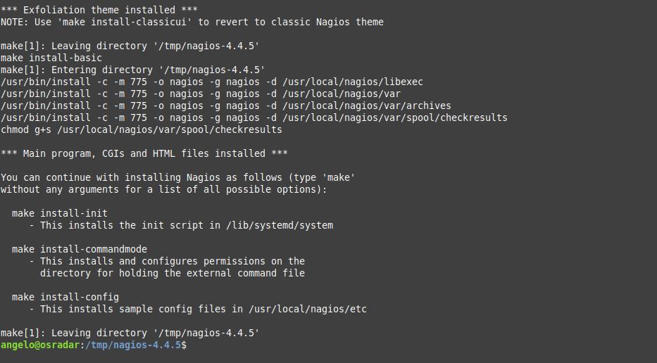 6.- Installing Nagios on Debian 10