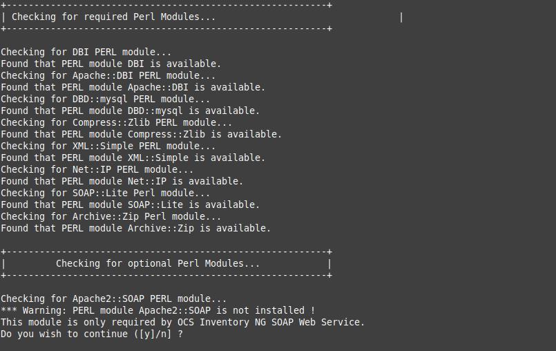 7.- Installing OCSInventory on Debian 10