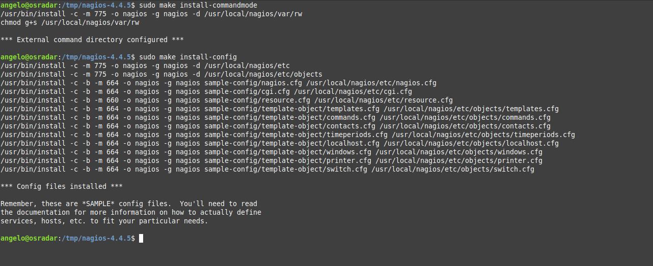 8.- Installing Nagios on Debian 10