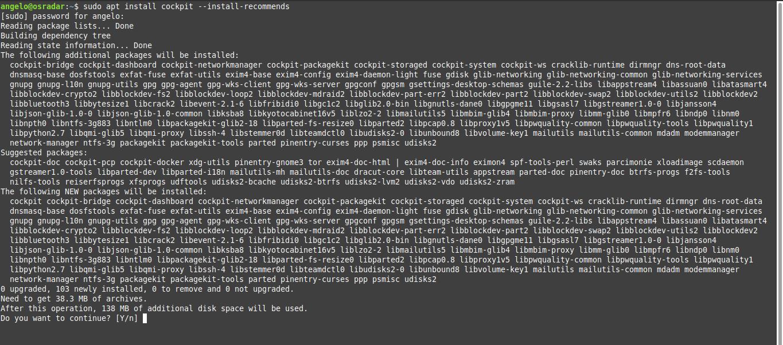 1.- Installing Cockpit on Debian 10