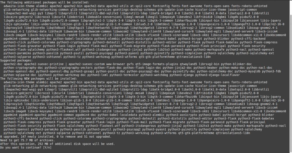 1.- Installing PgAdmin 4 on Debian 10